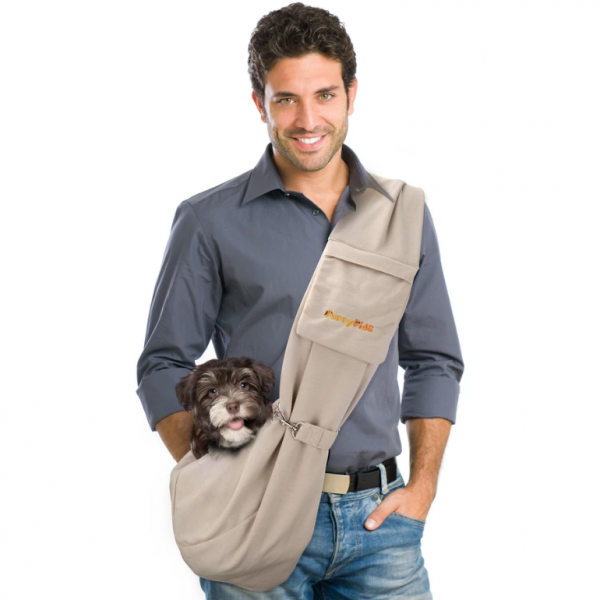 FF-Carrier with Band - Small Animals - Reversible - Khaki