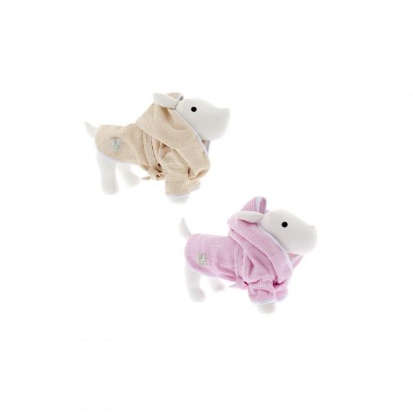 FE - Cotton Bathrobe - Pink or Kaki - Various Sizes -
